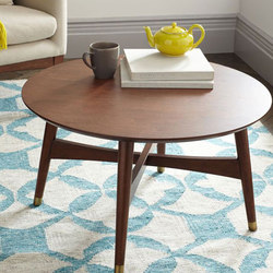 Reeve Mid-Century Coffee Table in Pecan | Lounge tables | Distributed by Williams-Sonoma, Inc. TO THE TRADE
