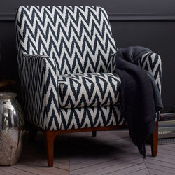Sloan Upholstered Chair - Prints | Lounge chairs | Distributed by Williams-Sonoma, Inc. TO THE TRADE