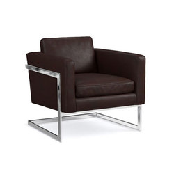 Harrow Leather Armchair | Sillones lounge | Distributed by Williams-Sonoma, Inc. TO THE TRADE
