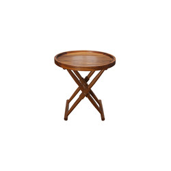 Matthiessen Round Tray Table | Tavolini alti | Richard Wrightman Design