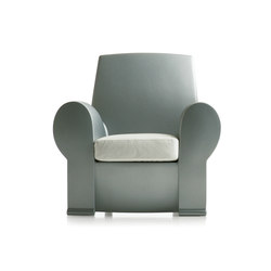 Richard III armchair | Loungesessel | Baleri Italia by Hub Design