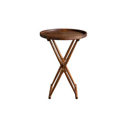 Matthiessen Round Tray Table | Beistelltische | Richard Wrightman Design