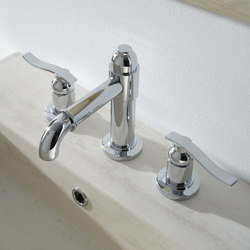 Bali - Three-hole washbasin mixer | Wash basin taps | Graff