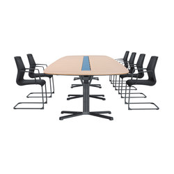 pulse conference table | Mesas de conferencia multimedia | Wiesner-Hager