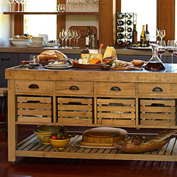 Williams-Sonoma Home | Cooper Double Kitchen Island | Cocinas isla | Distributed by Williams-Sonoma, Inc. TO THE TRADE