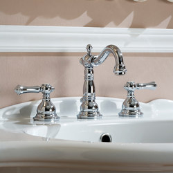 Nantucket - Three-hole washbasin mixer | Wash-basin taps | Graff