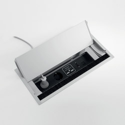 DV300-Accessories | Top access with electrical socket integration | Multimediaanschlüsse | DVO