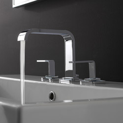 Immersion - Three-hole washbasin mixer | Wash basin taps | Graff