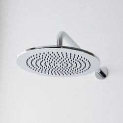 Terra - Shower head with shower arm - complete set   Shower controls   Graff