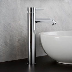 M.E. 25 - Single lever basin mixer - high | Wash basin taps | Graff