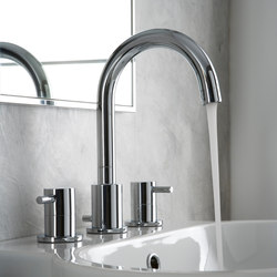 M.E. 25 - Three-hole bathtub mixer | Bath taps | Graff