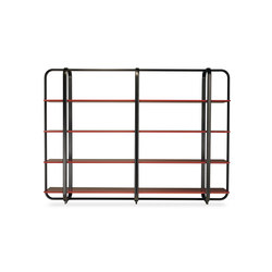 I.S.I. Bookcase | Office shelving systems | Baleri Italia by Hub Design