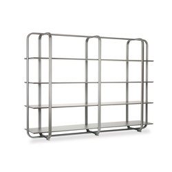 I.S.I. Bookcase | Office shelving systems | Baleri Italia by Hub Design