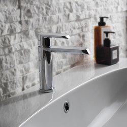Phase - Single lever basin mixer - 12cm spout | Wash basin taps | Graff