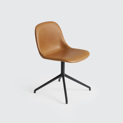 Fiber Side Chair | swivel base | Visitors chairs / Side chairs | Muuto