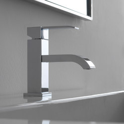 Qubic - Single lever basin mixer - 10,5cm spout | Rubinetteria lavabi | Graff