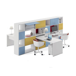 DV525 - Modular Bookshelves | Computertische | DVO