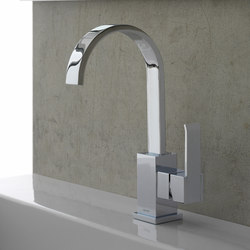 Qubic - Single lever basin mixer | Wash-basin taps | Graff