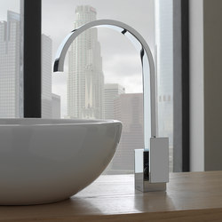 Sade - Single lever basin mixer- high | Wash basin taps | Graff