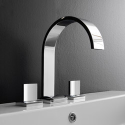 Sade - Three-hole washbasin mixer | Wash basin taps | Graff