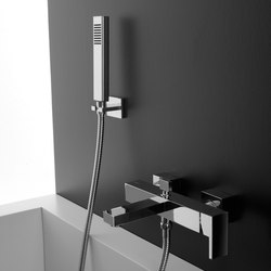 Sade - Wall-mounted shower mixer with handshower set | Shower controls | Graff