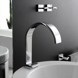Sade - Three-hole bidet mixer | Bidet taps | Graff