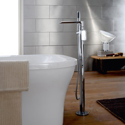 Sento - Floor-mounted bathtub mixer | Bath taps | Graff