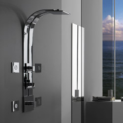 Solar - Thermostatic SKI shower set - exposed parts | Shower controls | Graff