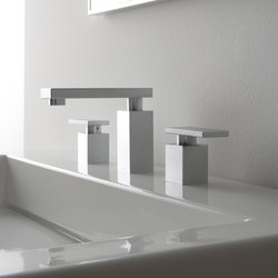 Solar - Three-hole washbasin mixer