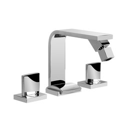 Targa - Three-hole bidet mixer | Bidetarmaturen | Graff