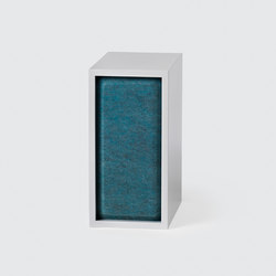 Stacked Shelf System Acoustic Panel| small | Mobilier acoustique | Muuto