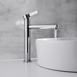 Terra - Single lever basin mixer high - 16,5cm spout