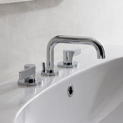 Terra - Three-hole washbasin mixer