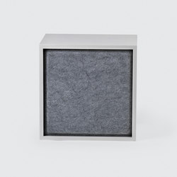 Stacked Shelf System Acoustic Panel| medium | Mobilier acoustique | Muuto