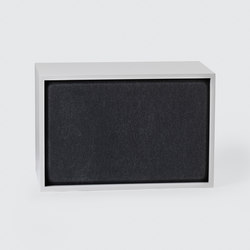 Stacked Shelf System Acoustic Panel| large | Sound absorbing furniture systems | Muuto