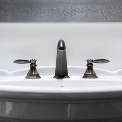 Topaz - Three-hole bidet mixer | Bidetarmaturen | Graff