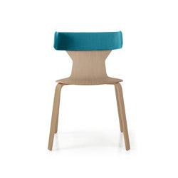 Nerta | Restaurant chairs | Quinti Sedute