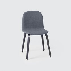 Visu Chair | wood base upholstered | Restaurant chairs | Muuto