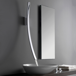 Luna - Wall-mounted washbasin spout | Wash basin taps | Graff