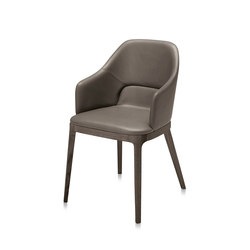 Doa P armchair | Besucherstühle | Frag