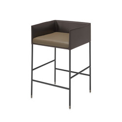 Square stool C | Tabourets de bar | Frag