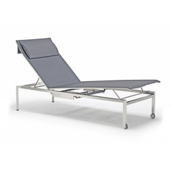 Pure Stainless Steel Lounger | Sun loungers | solpuri