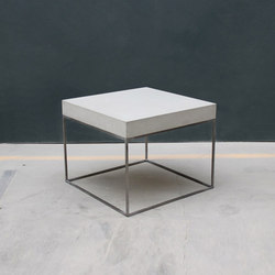 Exposed Concrete | Side tables | Concrete Home Design