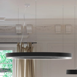 Silver Ring | Suspended lights | Panzeri