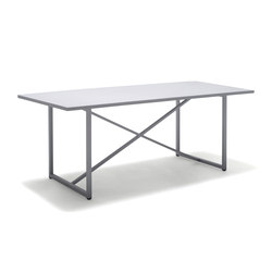 X-Series Alu Dining Table | Dining tables | solpuri