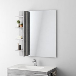 Duetto | 01 | Bath shelving | Mastella Design