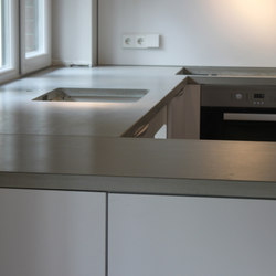 Concrete Kitchen I Concrete Countertop | Piani di lavoro | Concrete Home Design