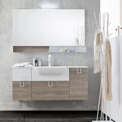Byte 2.0 | Composition 02 | Meubles sous-lavabo | Mastella Design