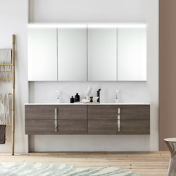Byte 2.0 | Composition 08 | Mirror cabinets | Mastella Design