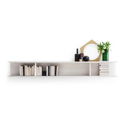 D.355.1 Bookcase | Office shelving systems | Molteni & C